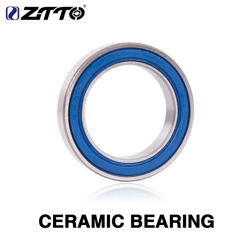FIRST Road Blue MTB Bike External Bearings Bottom Bracket For Shimano