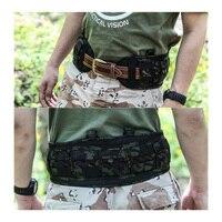 2019 2431 MCBK Tactical Belt Pad VC Brokos Belt Multicam Black Imported fabric Tactical cummerbund