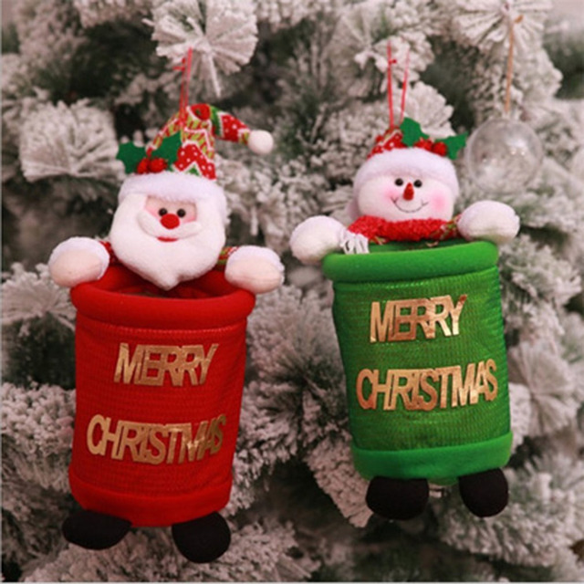 Christmas Gift Bags For Kids.Us 4 69 31 Off Creative Christmas Gift Bag Portable Candy Dessert Cookie Bags Home Party Decoration Xmas Kids Trash Cans Universal Gift Bag In