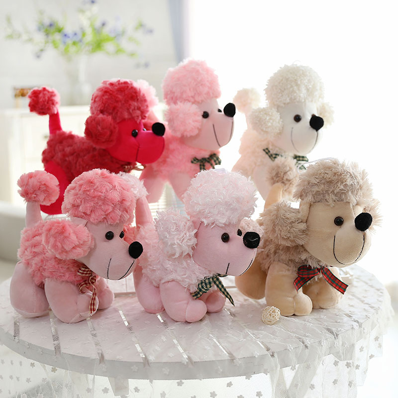 Roses Valentine S Day With Stuff Toys : Aliexpress buy cm hot cute poodle dog plush toy