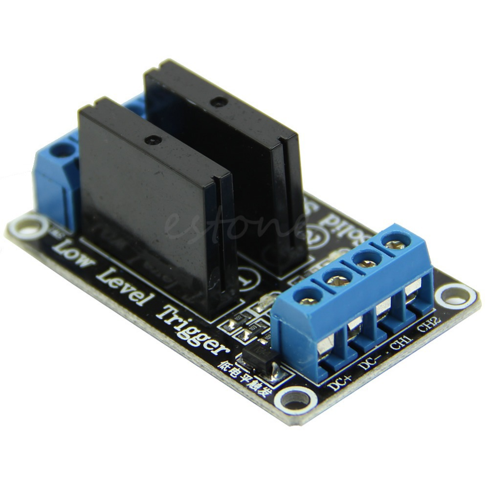 все цены на 5V 2 Channel OMRON SSR Low Level Solid State Relay Module For  250V2A онлайн