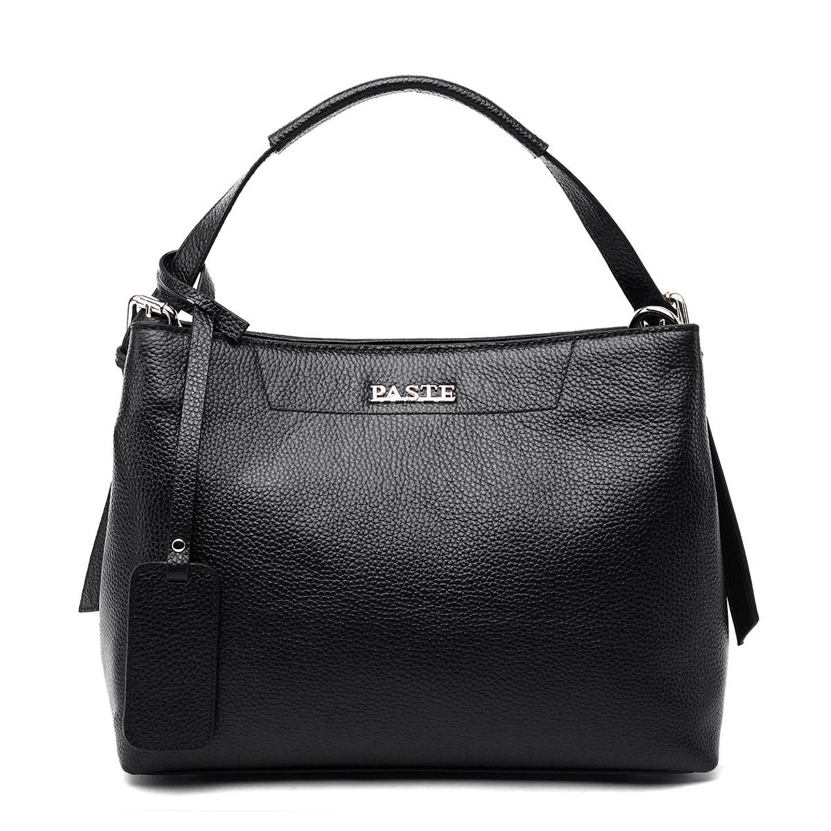 Women Bucket Genuine Leather Bags Fashion Women leather handbags solid color lad