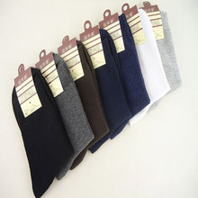Male Socks New Arrival 100% Cotton Solid Color Classic Business Men's Sock Brand Casual Dress Mens Socks 10pairs/lot