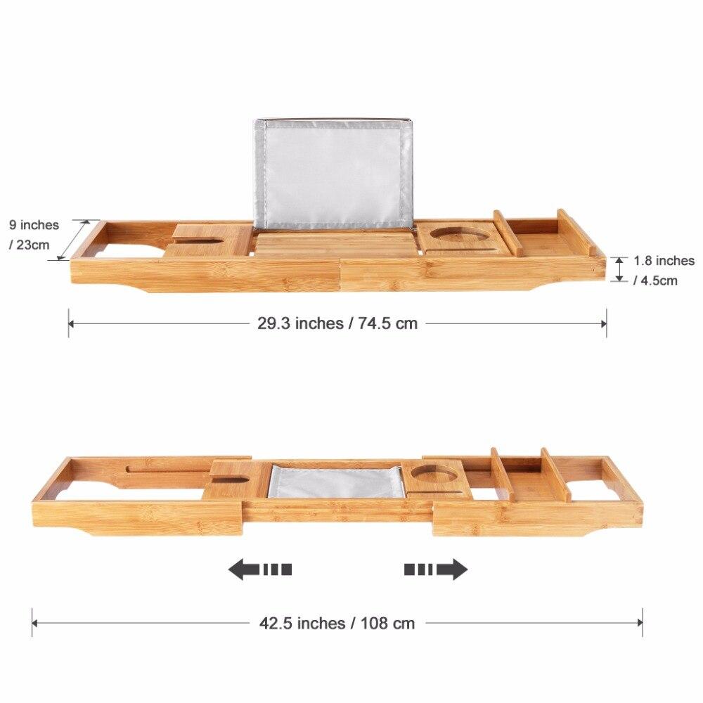 Aliexpress.com : Buy Multifunctional LANGRIA Bamboo Bathroom Shelves ...