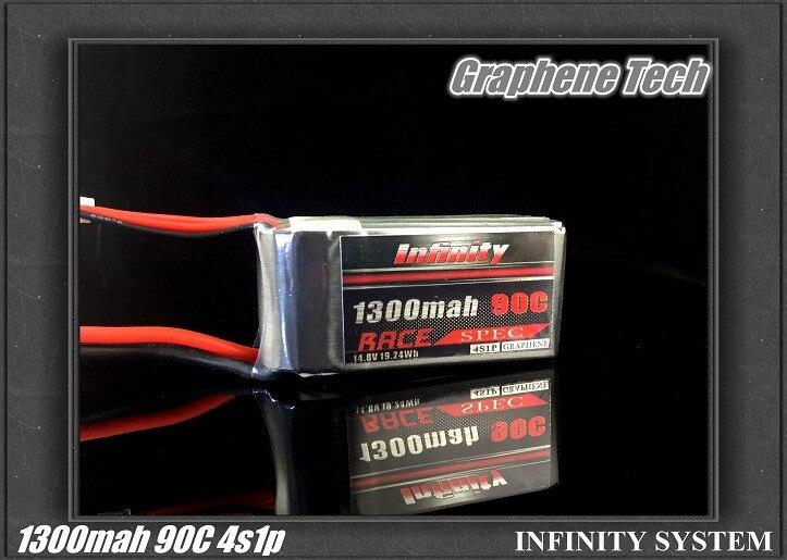 Infinito 3S 4S 11,1 V 14,8 V 1300mAh 45C 90C 110C grafeno batería LiPo SY60 XT60 T enchufe conector para parte del marco RC Quadcopter 1 Pza 3S 40A Li-ion cargador de batería de litio Placa de protección PCB BMS para Motor de perforación 11,1 V 12,6 V Módulo de célula Lipo equilibrio mejorado
