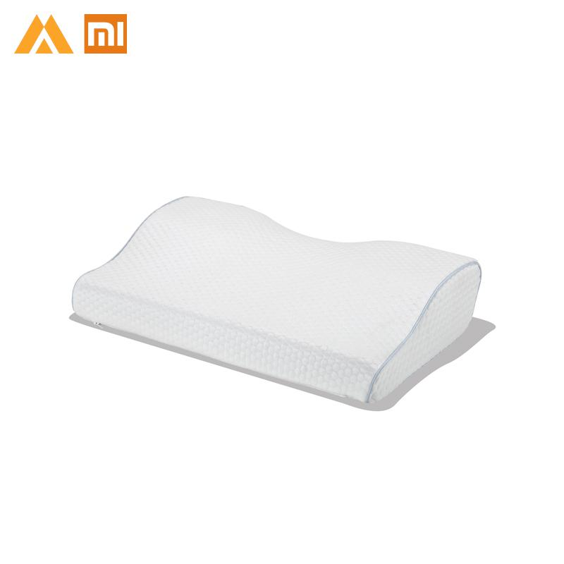 Original Xiaomi 8H Slow Rebound Contour Memory Foam Pillow 9 Wings Shape Soft Antibacterial Neck Support