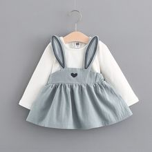 Baby Girls Bunny Easter Dresses