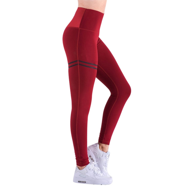 High Waist Fitness Leggings New Slim Sportswear Jeggings Activewear Women Pants Fashion Solid Color Workout Legging For Girls