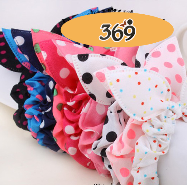 Hor sale 2013 the latest fashion Baby Girl Kid Children women bunny ears elastic hair bands
