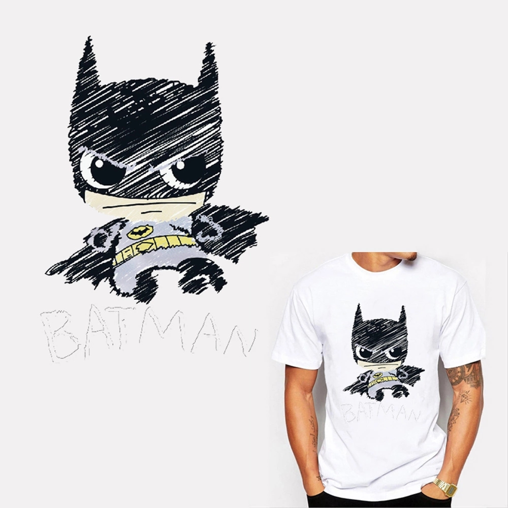 Cartoon Appliques T-shirt Press Heat Transfer Sticker Washable Iron On Patches