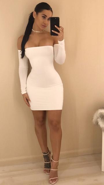 Off Shoulder Party Dresses for Ladies