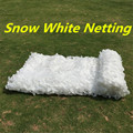1.5X4 2X3 2X6 3X4 2X8 1.5X5M Hunting Camping Military Camouflage Net Outdoor Snow White Mesh Netting Wedding Party Decoration