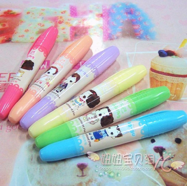 Chenguang stationery aroma neon pen aroma 6 neon pen chenguang neon pen neon pen stationery