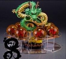 Dragon Ball Z Action Figures Shenron With Shelf And Balls Anime Pvc Dragonball Z Figures DBZ Toys Esferas Del Dragon DBZ