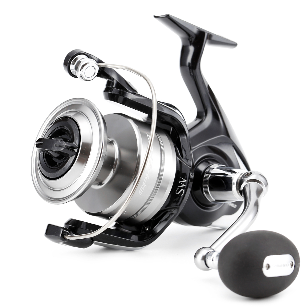 100% Original Shimano Brand 15 SPHEROS SW 6000 8000 10000 Spinning Fishing Reel 4+1BB Saltwater Front Drag Big Fish Gear storage cable
