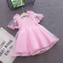 Girls Dress Summer Baby Clothing Wedding Birthday Baby Dress