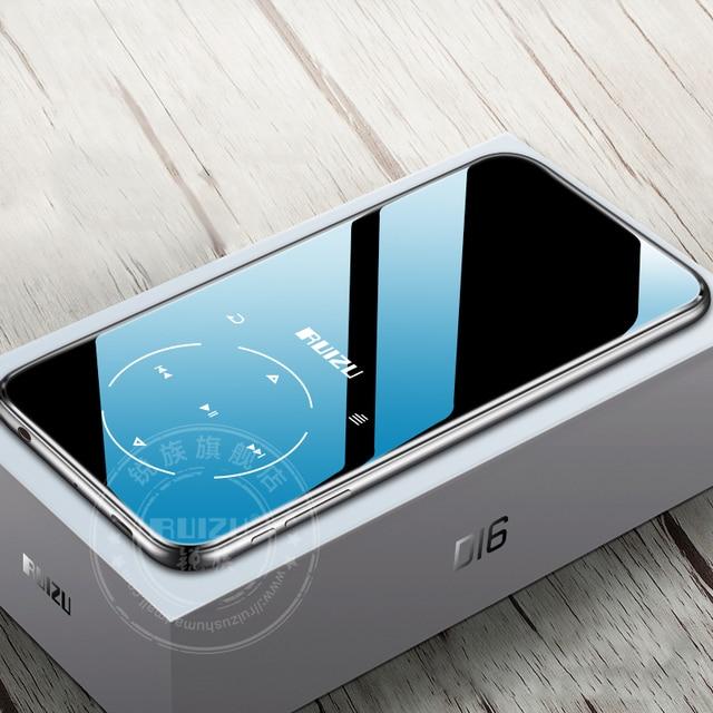 Ruizu D16 8G Nieuwe Metalen Bluetooth MP3 Speler Bulit Luidspreker Met Fm Radio Voice Recorder E Book Draagbare video Speler
