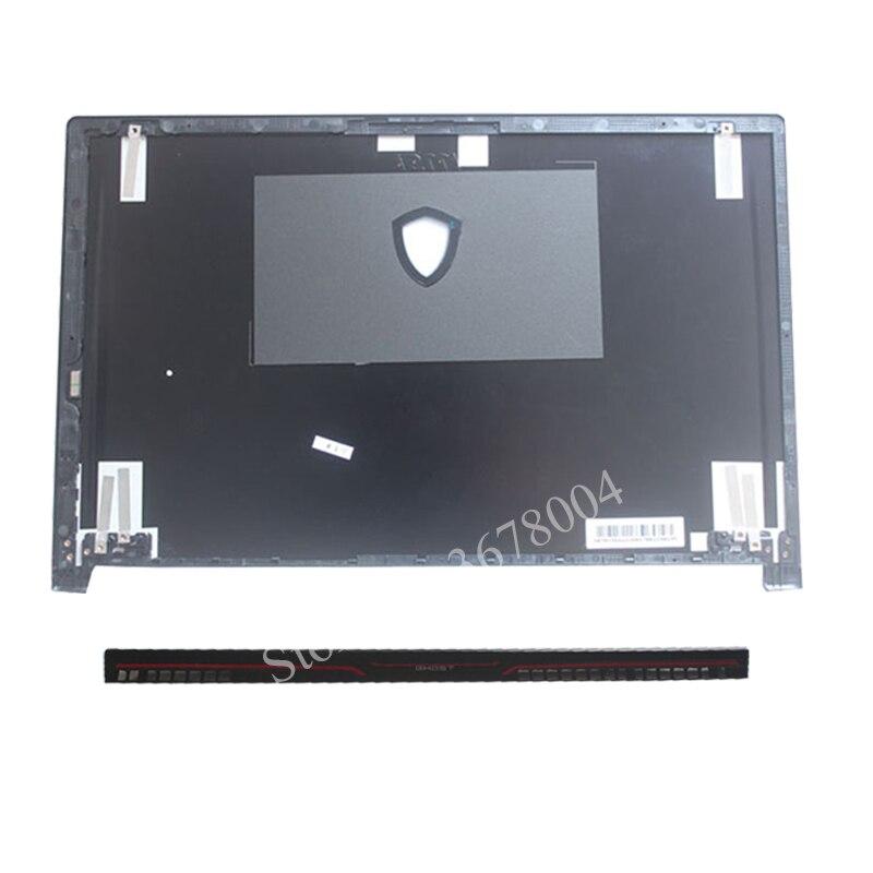 Nouveau Pour MSI GS63 GS63VR ordinateur portable LCD COUVERTURE ARRIÈRE 3076K3A22HG01/cache de charnière