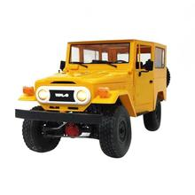 1:16 Remote Control Diecast Metal Alloy Model RC Climbing Toy Truck Off-Road Racing Car Children Birthday Christmas Gift Boys 2 4g remote control climbing model car kids rtr 1 16 remote control military truck 4 wheels drive off road rc model boy gift toy