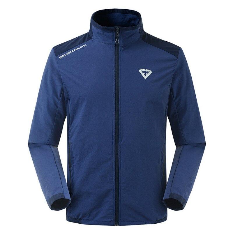 d16a78e2fc2fd Los hombres de la primavera chaqueta transpirable deportes al aire libre  chaquetas de Trekking senderismo escalada hombre impermeable a prueba de  viento ...