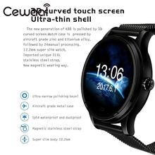 Cewaal Bluetooth 4.0 Smart Waterproof Watch Steps Count Heart Rate Monitor Music Player Phone Call IOS Android Wristwatch Gift