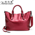 2017 new Genuine leather handbag fashionable adjustable handbag large capacity women messenger shoulder bag BBH1165
