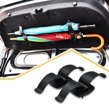 1 пара Универсальный Автомобильный багажник Монтажный кронштейн держатель зонта крепеж с винтами для зонта автомобильный Стайлинг авто аксессуары