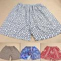 Seda de seda de la playa pantalones cortos de seda pura crepe de chine de seda pantalones de seguridad pantalones cortos
