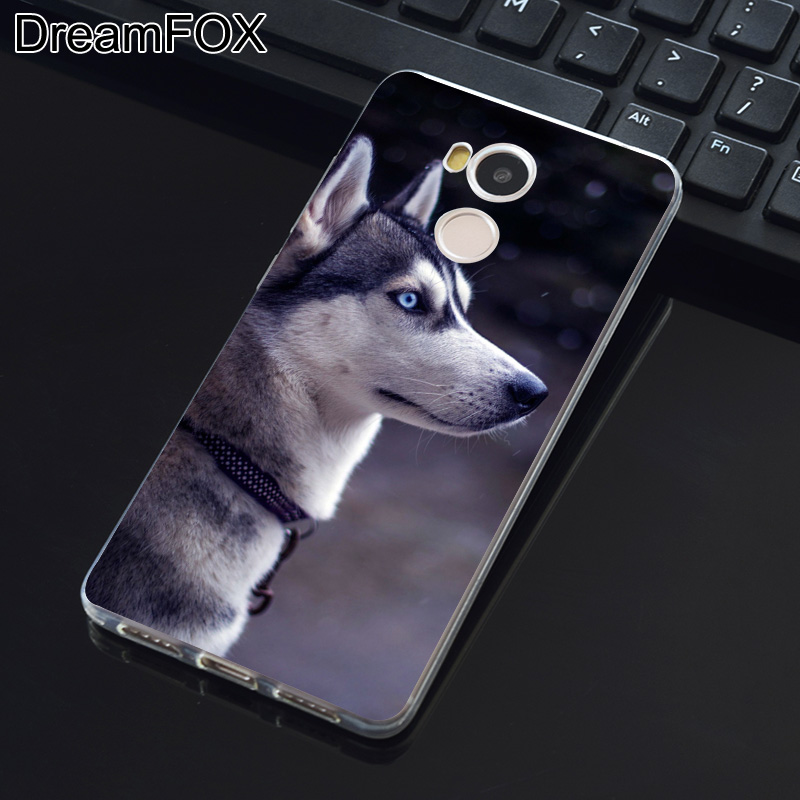 DREAMFOX K198 Sled Dogs Soft TPU Silicone Case Cover For Xiaomi Redmi Note 3 4 5 Plus 3S 4A 4X 5A Pro Global
