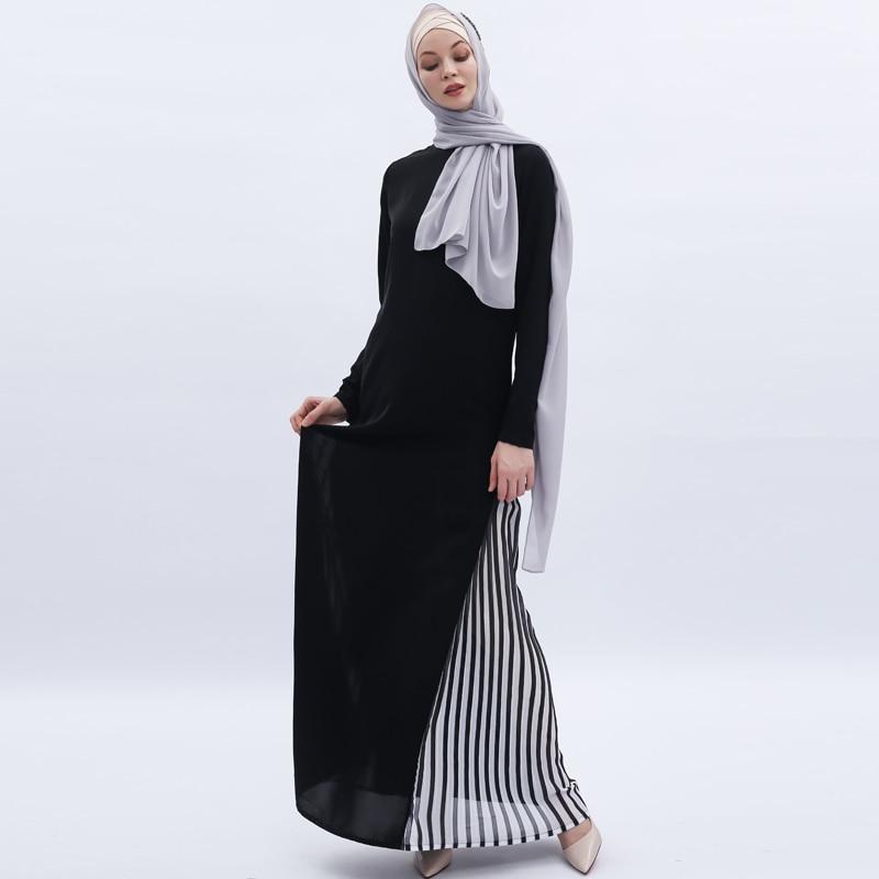 Vestidos Muslim Abaya Dubai Arabic Pakistani Long Hijab Dress Women Kaftan Caftan Elbise Robe Musulmane Longue Turkish Dresses