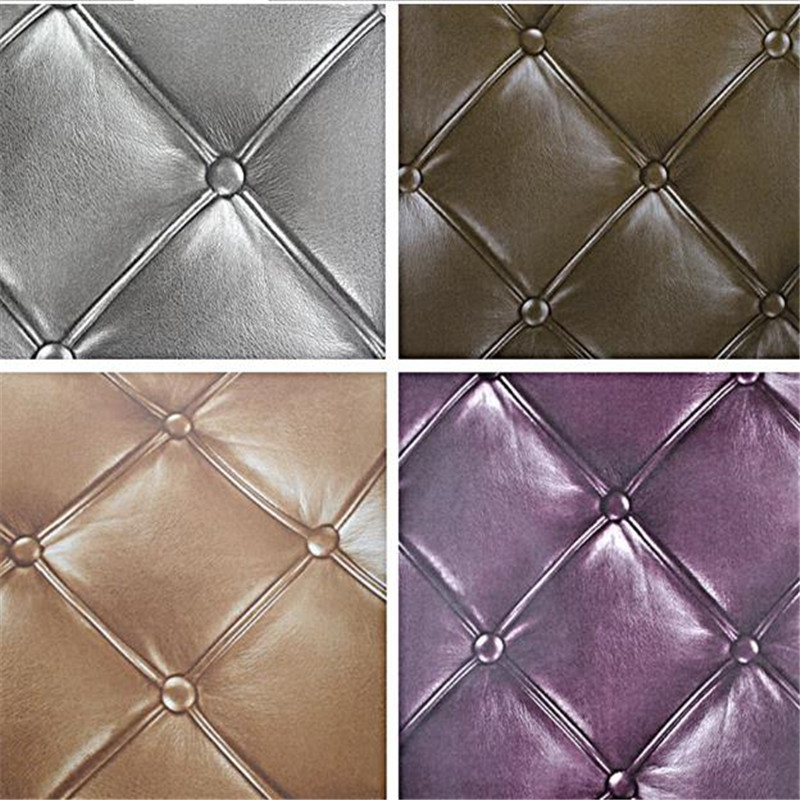 European Luxury PVC Wallpapers Rolls Faux Leather 3D Wallpaper for Walls Living Room Bedroom Wall Papers Covering Home Decor beibehang modern luxury circle design wallpaper 3d stereoscopic mural wallpapers non woven home decor wallpapers flocking wa