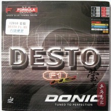 Original Donic DESTO F1-HS 12010 table tennis rubber table tennis rackets racquet sports
