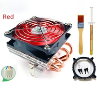 Ultra CPU cooler Copper pipe heatsink radiator HTPC ITX computer case proccesor cooling for Intel LGA1156 1151 1150 775 AM3 AM4