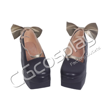 CGCOS Express! Anime Cosplay Shoes Vocaloid Snow Miku Hatsune Miku Boots Helloween Game Cos Accessories