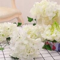 Artificial Hydrangea Flower Head 15 CM Diameter Wedding / Party / Home Simulation DIY Flower Wall Decor 27 Color 50 PCS / Lot