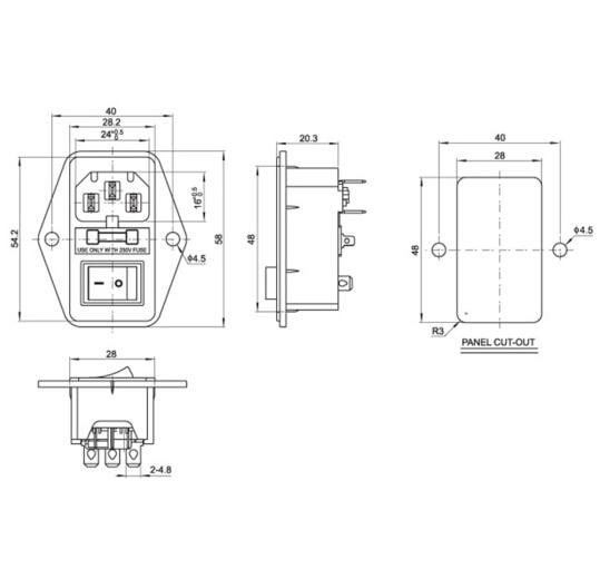 A Male Power Plug Wire Diagram Wiring Diagram