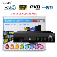 New Arrival USA Canada Mexico ATSC TV BOX HD Digital TV Converter Box Terrestrial Antenna Signal TV Tuner receiver Ship from USA