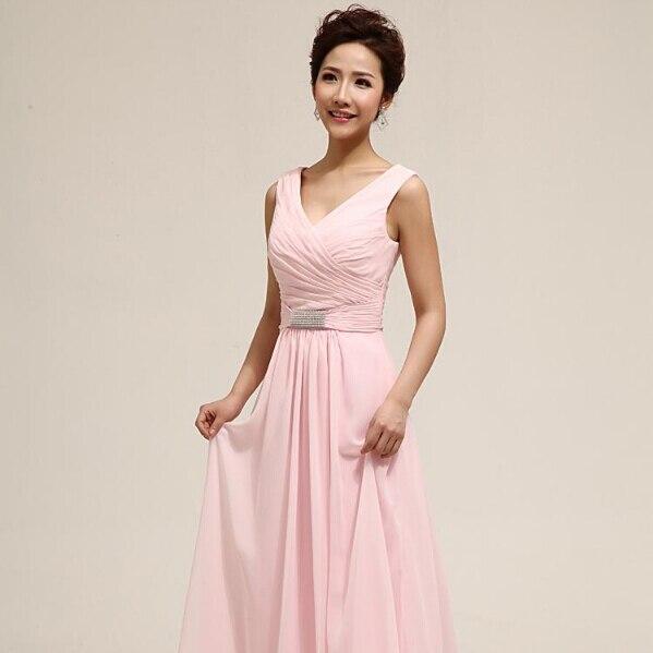 Vestido dama de menina palabra de cuerpo entero rosa desnuda modest ...