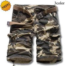 High quality 2019 Summer Cotton bermuda masculina shorts men Camouflage Jungle deserts Cargo overalls short hombre