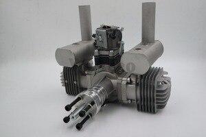 Image 1 - RCGF 70cc двухцилиндровый бензиновый/бензиновый двигатель для радиоуправляемого самолета