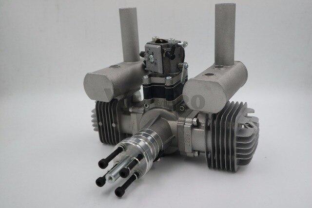 RCGF 70cc двухцилиндровый бензиновый/бензиновый двигатель для радиоуправляемого самолета