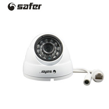 SAFER Mini POE Dome Camera 24PCS IR Led Video Surveillance Camera 1.0MP Home Security Infrared Video Surveillance CCTV Camera
