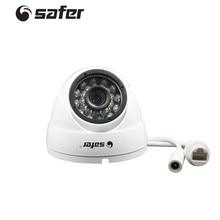 SAFER Mini POE Dome Camera 24PCS IR Led Video Surveillance Camera 1.0MP Home Security Infrared Video Surveillance CCTV Camera