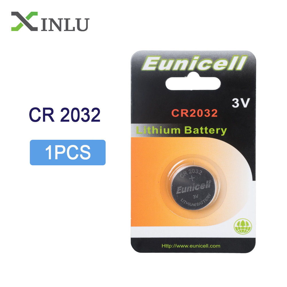 1PC /pack CR2032 DL2032 CR 2032 KCR2032 5004LC ECR2032 Button Cell 3V Li-ion Watch Coin Battery Batteries