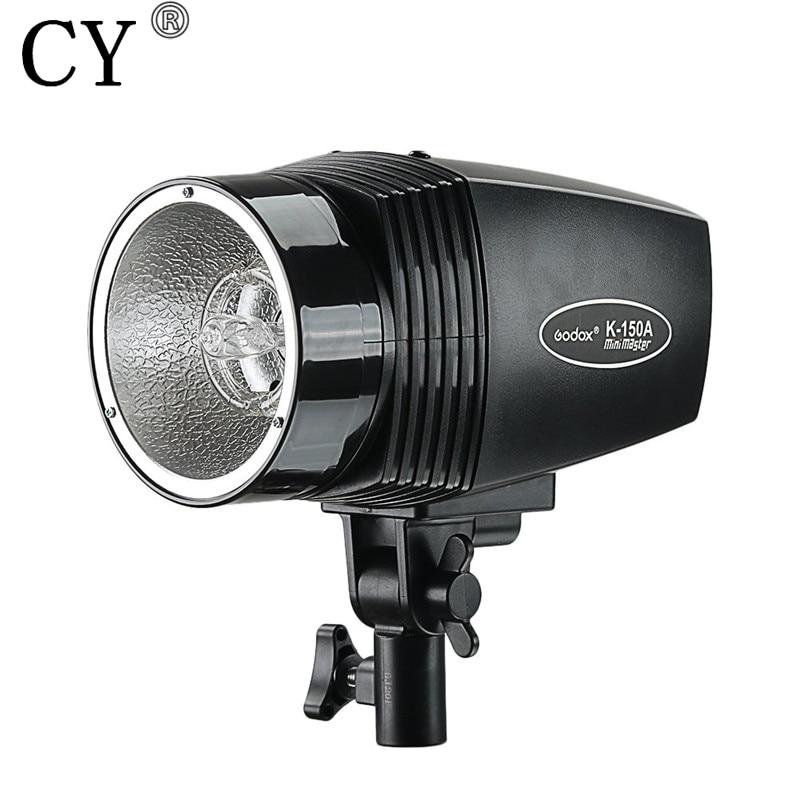 150W Photo Studio Mini Master Strobe Flash Monolight 110V Studio Flash Light Photography Equipment GODOX K-150A