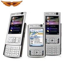 Nokia N95 разблокированный мобильный телефон 5MP камера 2,6 дюймов TFT экран WiFi GPS с русскоязычным арабским keyboatrd