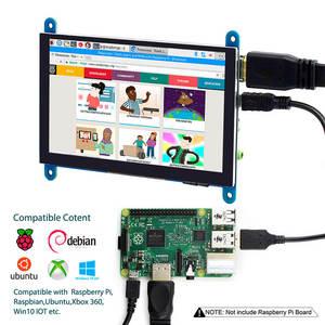 Image 4 - Elecrow 5 pollici Touchscreen Monitor Portatile HDMI 800x480 Capacitivo Touch Screen Display LCD Raspberry Pi 4 Display