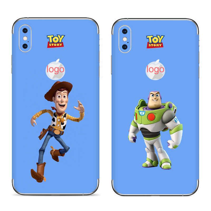 GOOYIYO-Dành Cho Iphone X XS Miếng Dán Điện Thoại XS Max XR DIY Decal 3M Vinyl Màu Bao Da cho Da ốp lưng iPhone 6 6S 7 8 Plus Miếng Dán