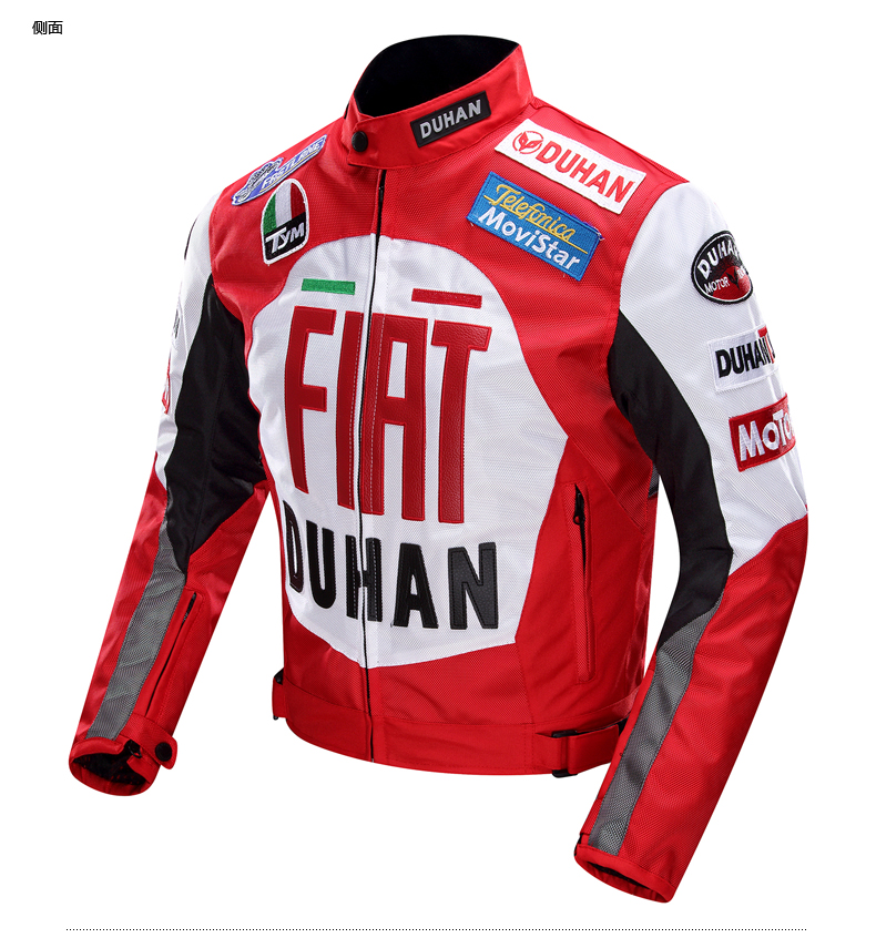 Genuine DUHAN four seasons Oxford off road motorcycle jacket Men Moto racing jckets locomotive motorcycle riding clothes the locomotive car off road motorcycle 4 sets of four summer leggings kneecaps fall proof stainless steel brace length