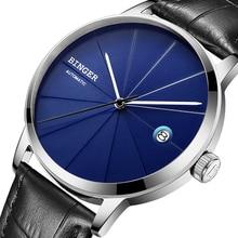 2017 BINGER Mens Watches Luxury Brand automatic mechanical Men Watch Sapphire Wrist Watch Male Japan Movemt reloj hombre 5079-8